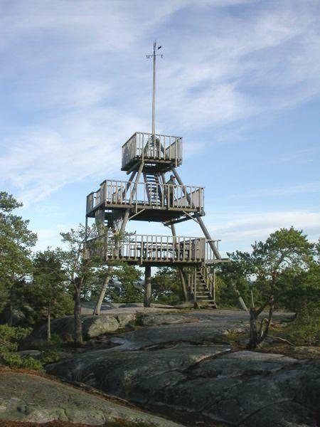 Borgbergin näköalatorni, Houtskari