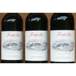 """€ 11,50 a bottiglia """"Azienda Agricola FRASCOLE"""" Chianti Rufina DOCG 2009 in confezione da 6 bottiglie.prodotto con uve da agricoltura biologica"""