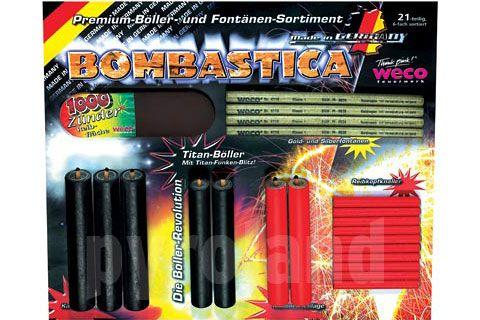 Bombastica (Höllensound) Feuerwerk-Knaller-Sortiment von Weco II - Der Feuerwerk Shop