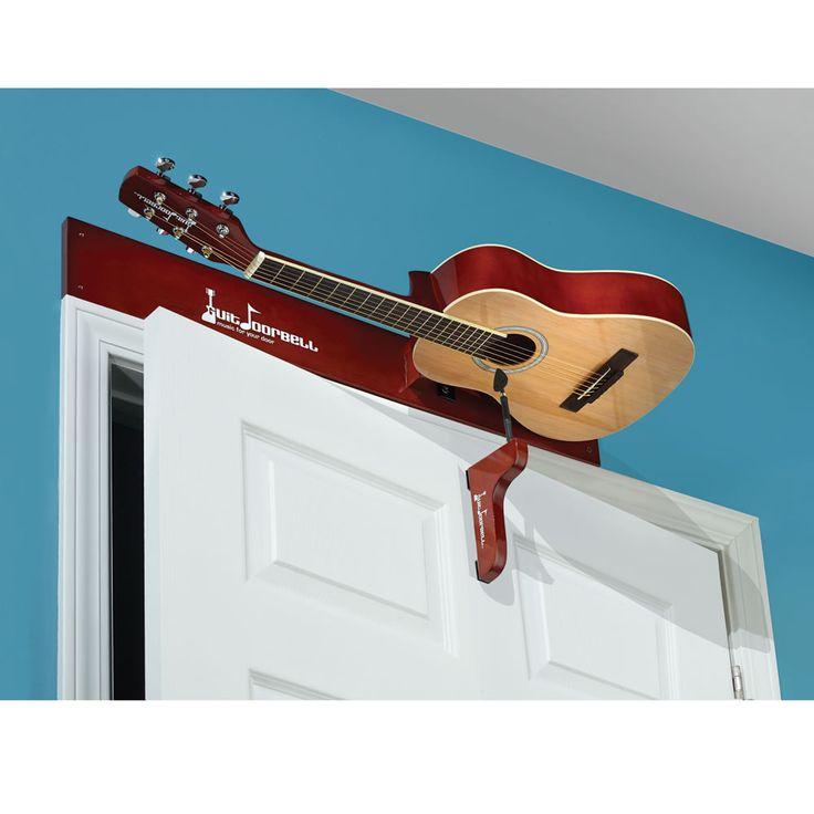 The Guitar Doorbell - Hammacher Schlemmer