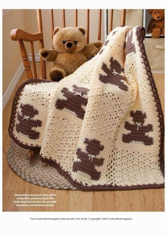 Crochet World Bonus Patterns Baby On Pinterest