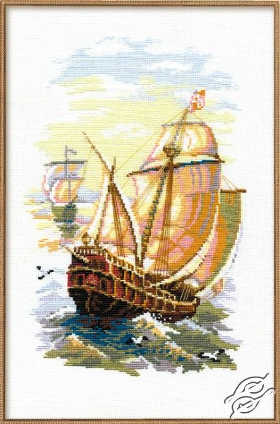 Sailing Boat - Cross Stitch Kits by RIOLIS - 846