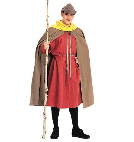 M2853, Misses', Men's and Teen Boy's Cape and Tunic Costumes