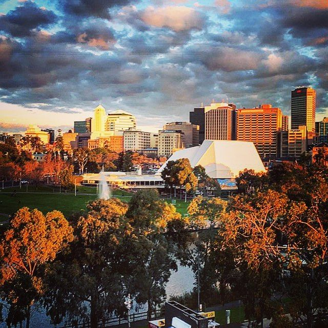 The view of #Adelaide from @adelaideoval on a #winters day! #cityofchurches #travel #travelblog #travelbloggers #travelblogger #wanderlust #travelpic #picoftheday #instapic #instaphoto #instatravel #wanderlust #passport #travelgram #followmetoo #flyingtra
