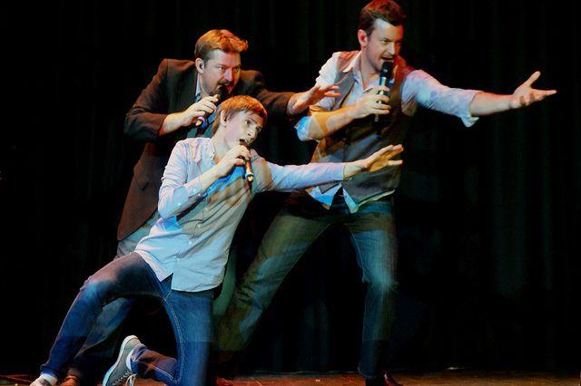 Australia's favourite man band, Suade. Pic by Alana Aphoy. #ormondhall #villagemelbourne #cabaretfestival
