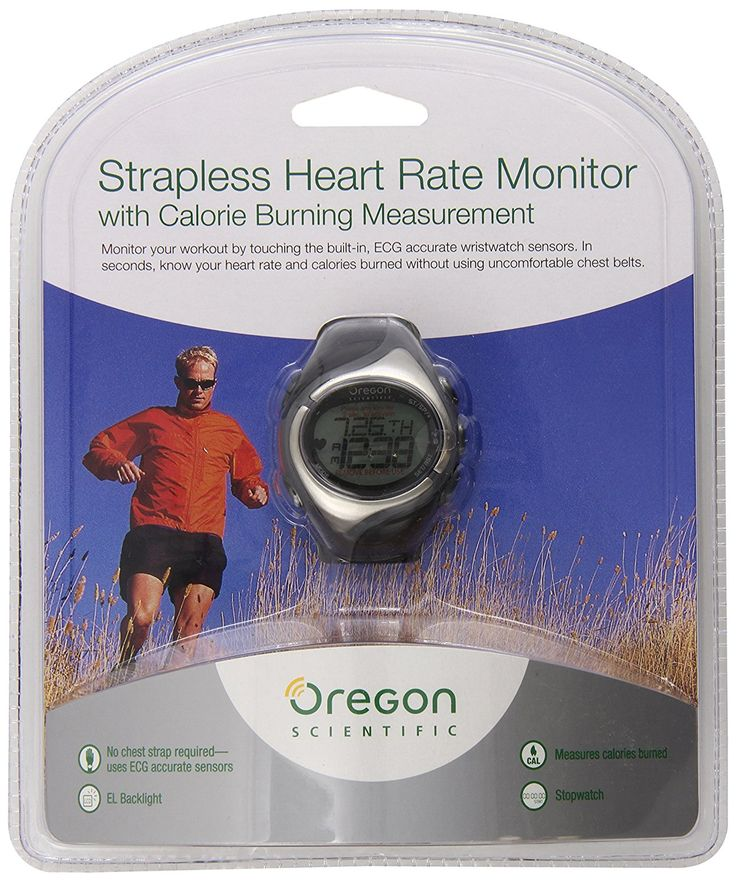Oregon Scientific SE138 Strap-Free Heart Rate Monitor -- Learn more by visiting the image link.