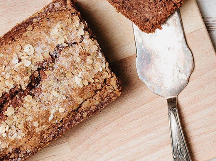 Kuchen backen mit Haferflocken: Rezept für Apfelkuchen