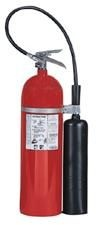 This one won't damage electrical equipment-15 lb BC Pro 15 CO2 Extinguisher w/Wall Hook