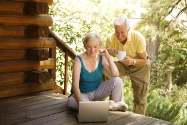 15 Plus Business Ideas for Targeting the 65 Plus Market: Two of your potential customers.
