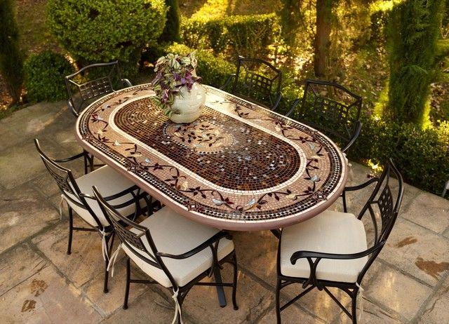 43 besten neille olson designs mosaic tables bilder auf pinterest, Esstisch ideennn