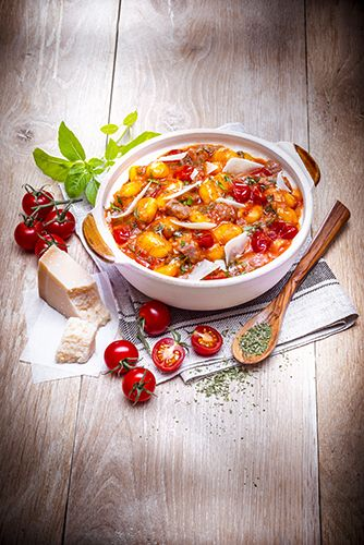 recettes crockpot gnocchis chipolatas tomatoes recipes crockpot