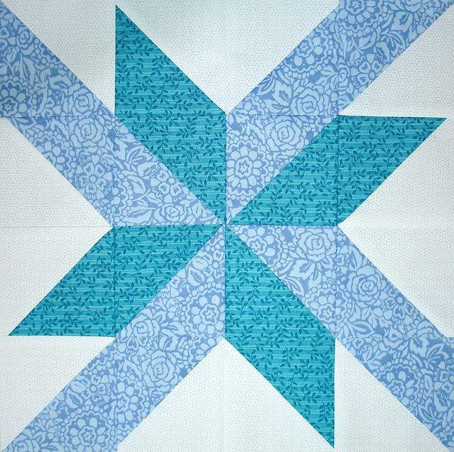 p star sampler quilt along - block 3 - 007 by Happy 2 Sew, via Flickr