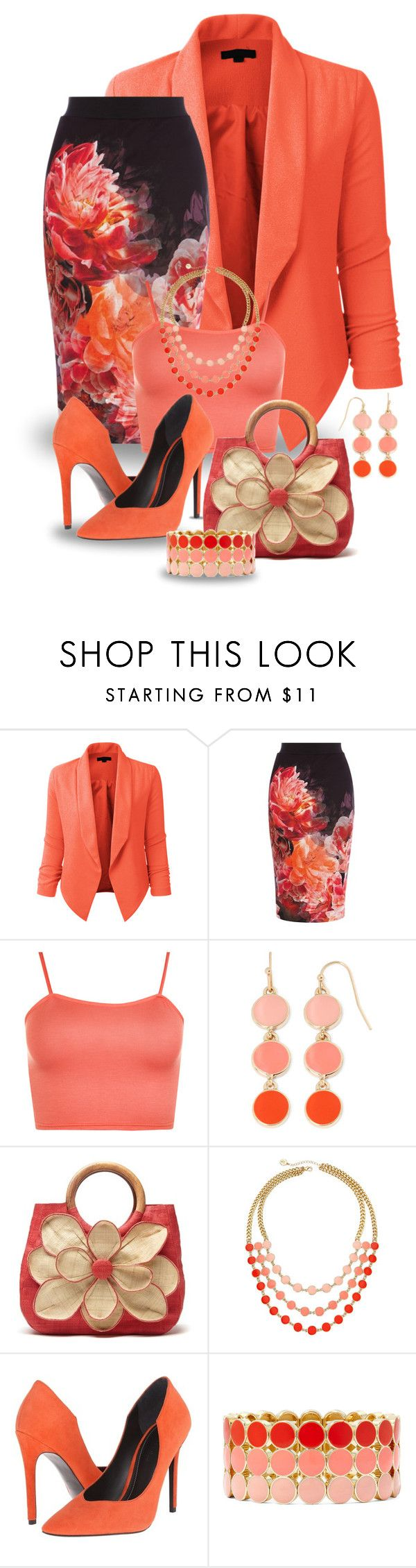 """Spring Brights!"" by maryv-1 ❤ liked on Polyvore featuring LE3NO, Coast, WearAll, Liz Claiborne, Mar y Sol and Kendall + Kylie"