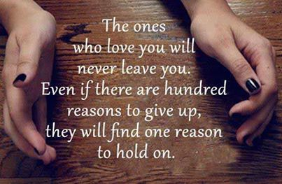 never give up on someone you love quotes sayings