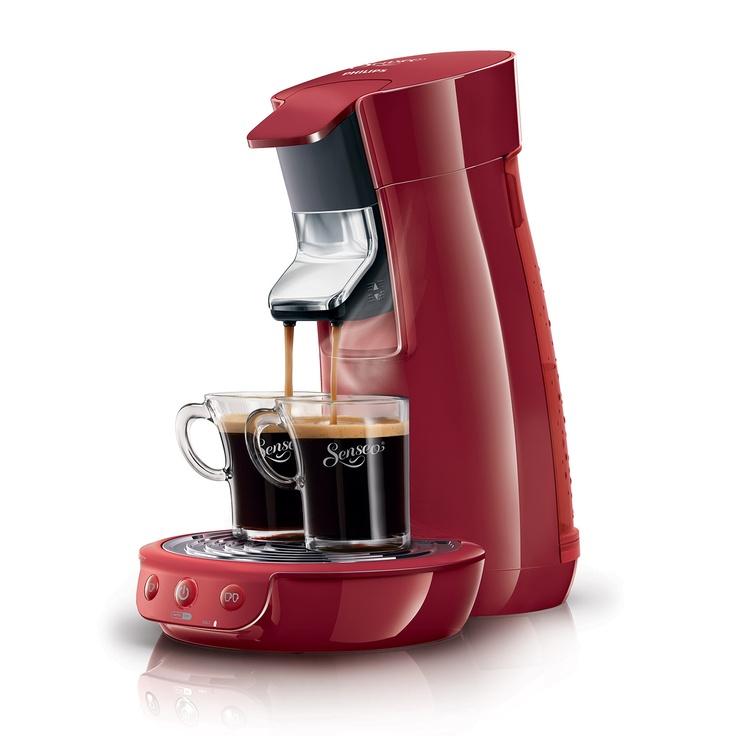 Philips Senseo Coffee Maker, Red | ACHICA