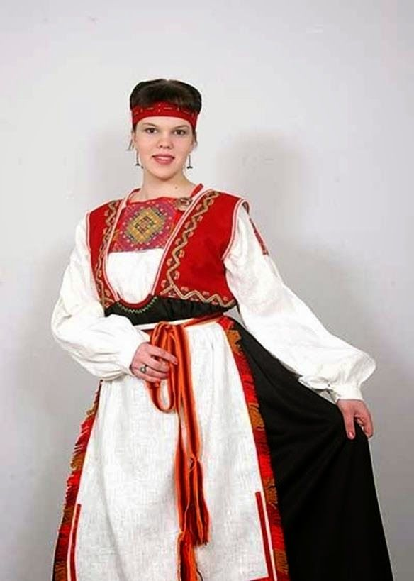 Картинки национальных костюмов карелы