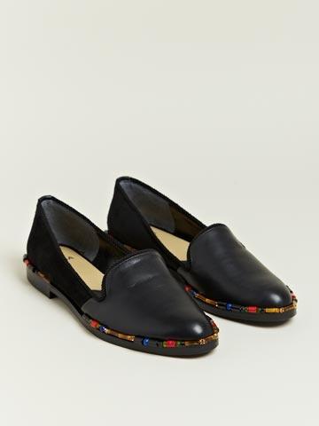 Toga Womens Beaded Shoes