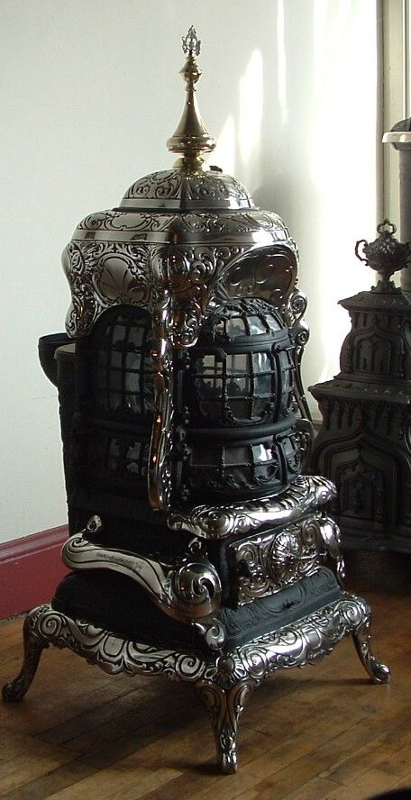 Antique Coal-Burning Stoves | Wood and Coal Stoves – Wood Burning Buck Stove Units Heaters and