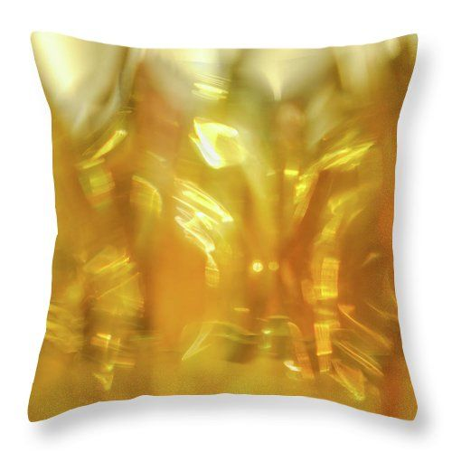 "Viscous Honey Throw Pillow by Jane Star.  Our throw pillows are made from 100% spun polyester poplin fabric and add a stylish statement to any room.  Pillows are available in sizes from 14"" x 14"" up to 26"" x 26"".  Each pillow is printed on both sides (same image) and includes a concealed zipper and removable insert (if selected) for easy cleaning."