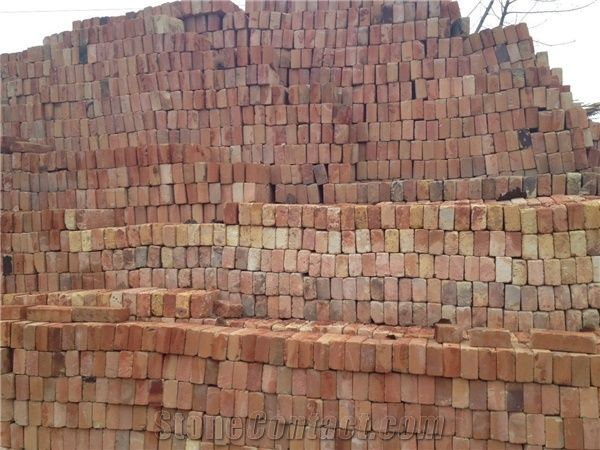 Yellow Old Fireclay Bricks Old Refractory Bricks Old Reclaimed Bricks From China Stonecontact Com Refractory Brick Reclaimed Brick Antique Brick