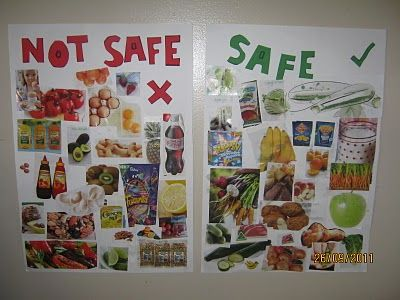 Great Idea for little ones with food allergies to learn to recognize what they are allergic too!