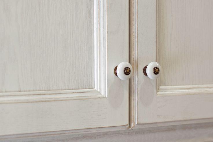 Puertas de cocina con plafl n y lacado a poro abierto - Pomos para puertas de cocina ...