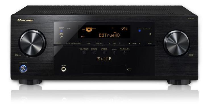 Pioneer Elite VSX-42 and VSX-60 Home Theater Receivers