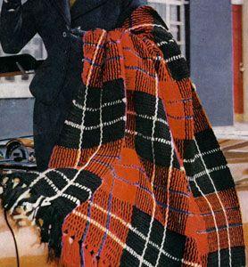 Free Crochet Patterns Tartan Rugs : 17 Best images about Tartan Afghan on Pinterest Cape ...