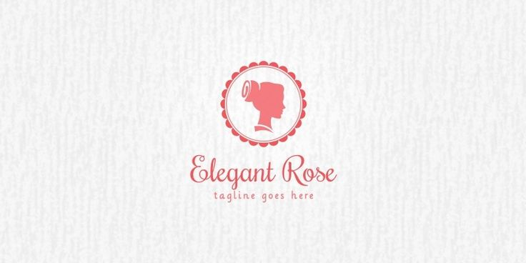 Elegant Rose - Logo Template