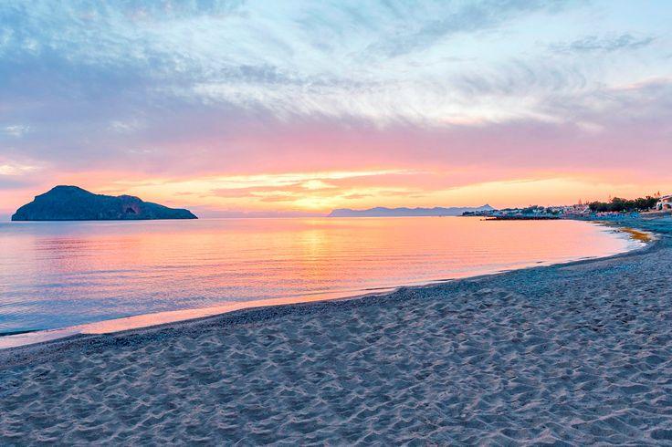 Platanias Beach in Platanias, Chania, Crete