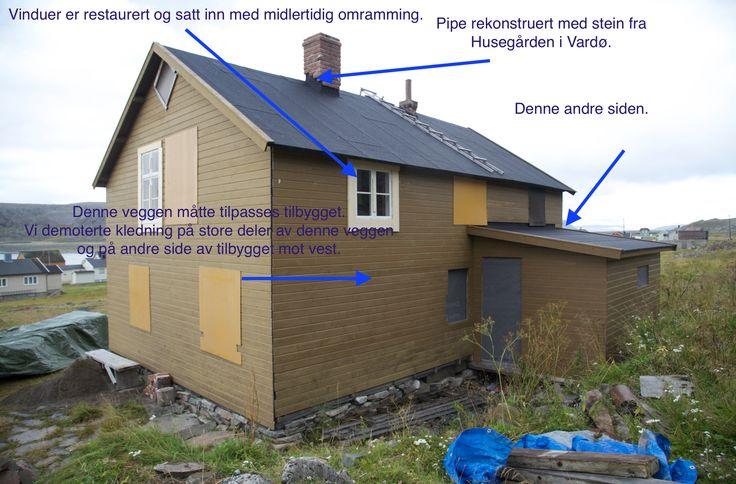 Fotodokumentasjon til rapport til Norsk kulturminnefond 2015.
