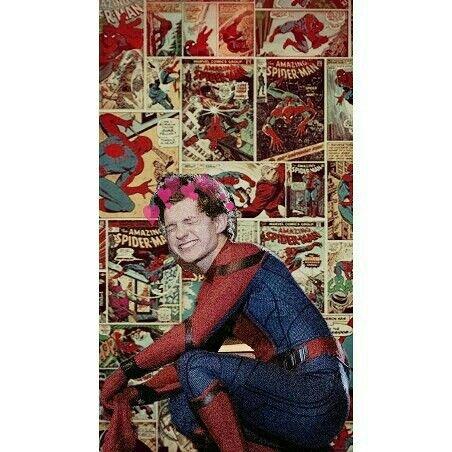 Tom holland em Homem-Aranha/ /spiderman Hq Marvel