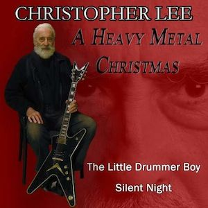Christopher Lee, 'A Heavy Metal Christmas'