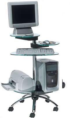 Las 25 mejores ideas sobre mesas de ordenador en - Mesas de ordenador con ruedas ...