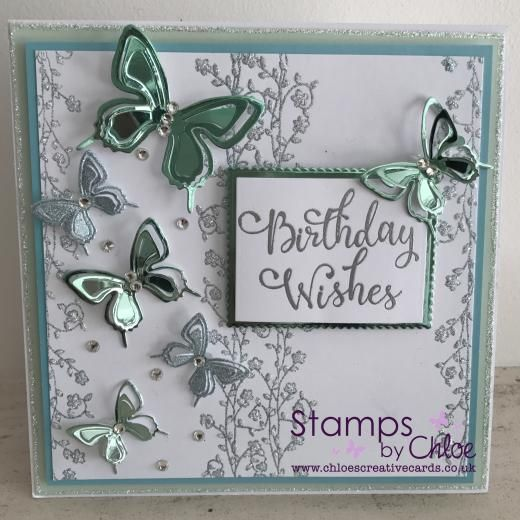 Stamps by Chloe - AUG024 Birthday Wishes
