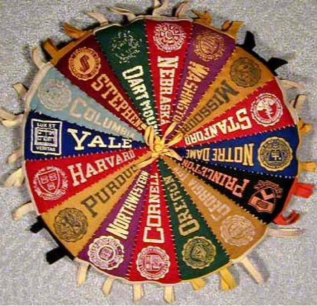Office: College Pennants design