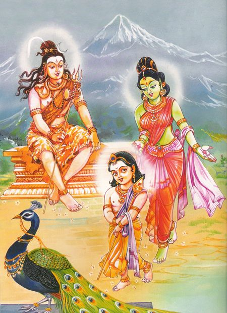 Lord Shiv and Family