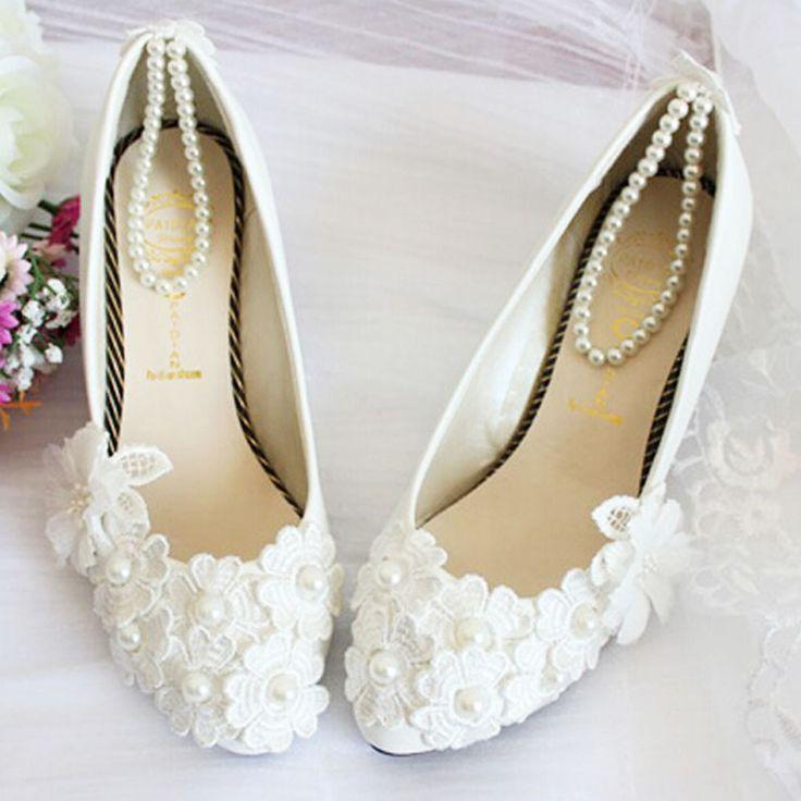 flat wedding shoes - Google Search