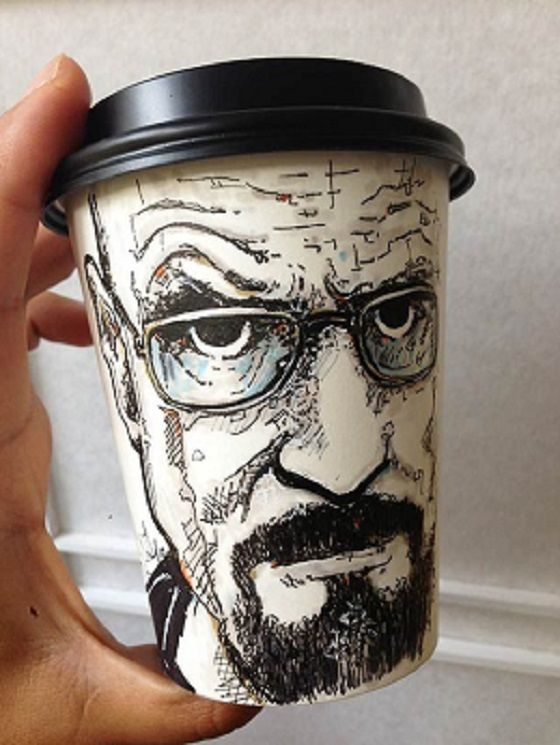 Breaking Bad Heisenberg Coffee Cup