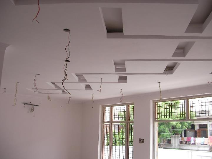 Interiors Project #1 - False Ceiling (Drawing Room) (3)