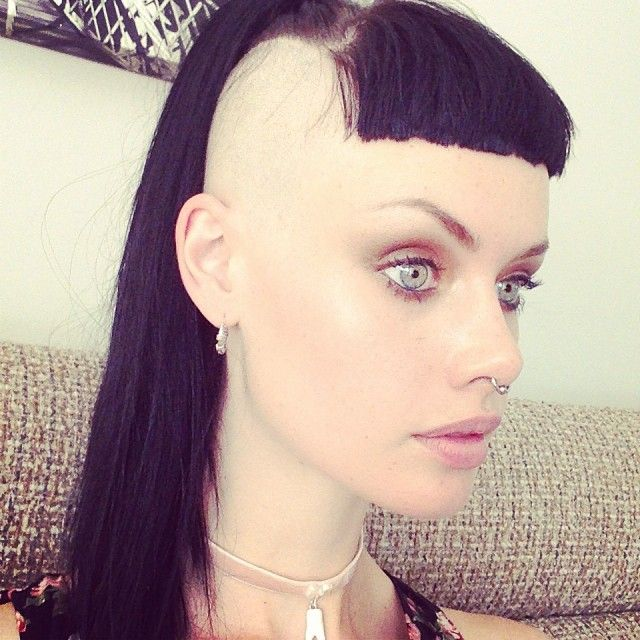 Alice Kelson They Shaved Me Bald Hair Inspiration