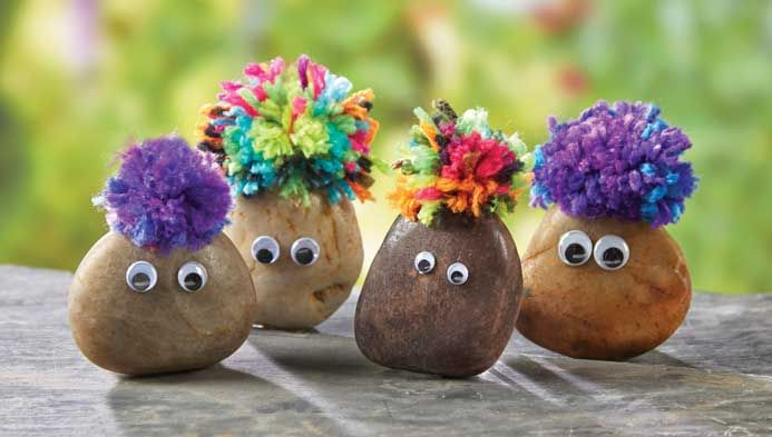 Learn How to Create a New Friend with Rocks | My Pet Rocks | Kids' Crafts | Kids' Crafting Classes