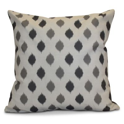 "The Holiday Aisle Hanukkah 2016 Decorative Holiday Geometric Throw Pillow Size: 18"" H x 18"" W x 2"" D, Color: Gray"