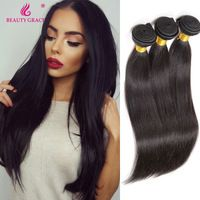 Brazilian Straight Hair 3 Bundles Brazilian Virgin Remy Hair Beauty Grace Remy Human Hair Bundles Meches Bresilienne Lots