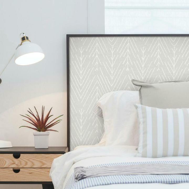 Twig Hygge Herringbone Peel And Stick Wallpaper In 2021 Peel And Stick Wallpaper Roommate Decor Room Visualizer