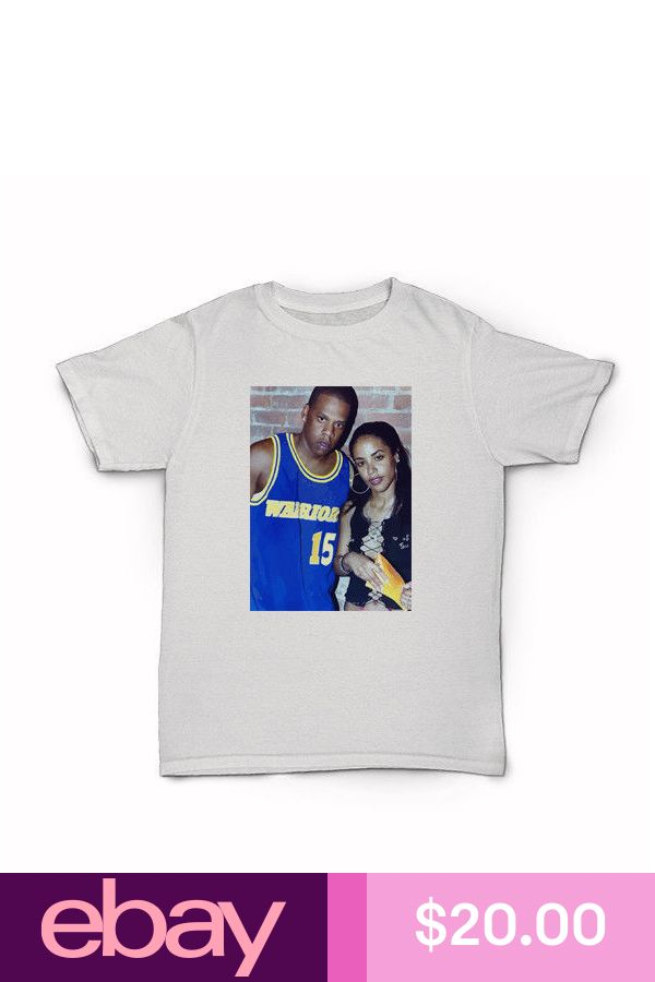 Jay-Z And Aaliyah T-Shirt hip hop 90/'s r/&b new york city beyonce kanye west