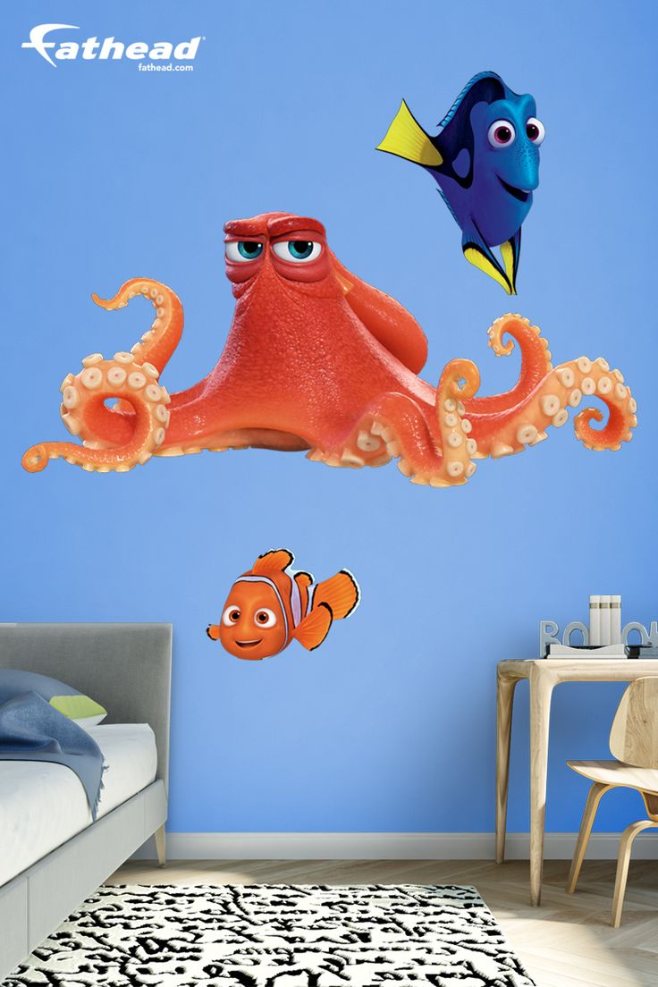 Finding Nemo Wall Decals Amazon : 78 Images About Wall Decals Disney Kids  Bedroom Decor For