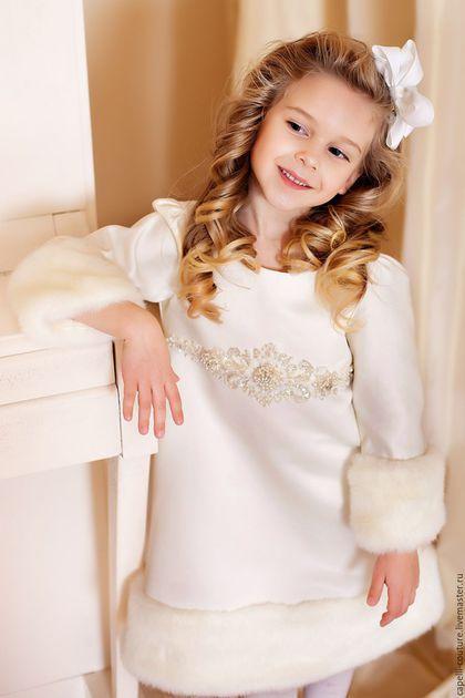 Купить Нарядное платье для девочки - платье для девочки, нарядное платье, праздничное платье, подарок на новый год