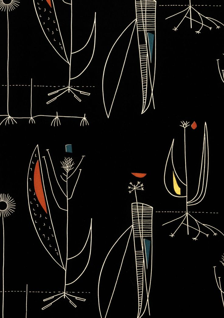 Herb Anatomy, Lucienne day / Heal's, 1956.