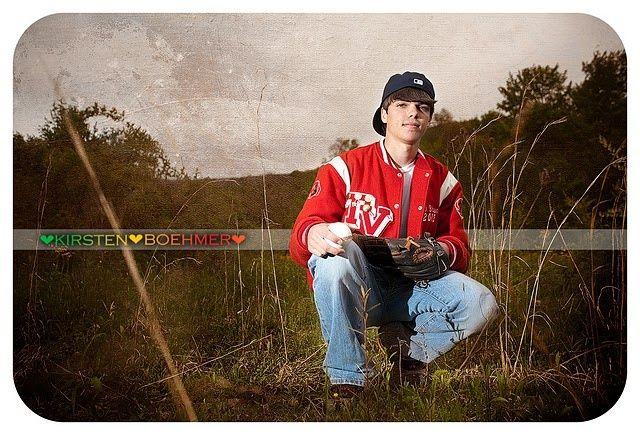 Senior Picture Ideas For Guys | Senior #Photography #guy #WV #baseball | Senior Photo Ideas for Brady